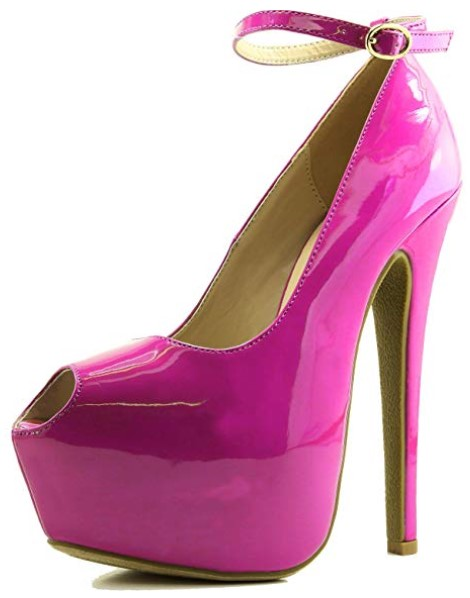 Daily Shoes Extreme Peep Toe Best Pole Dancing Shoes