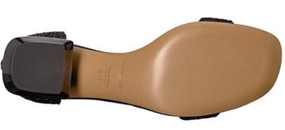 Emporio Armani Glitter Sandals
