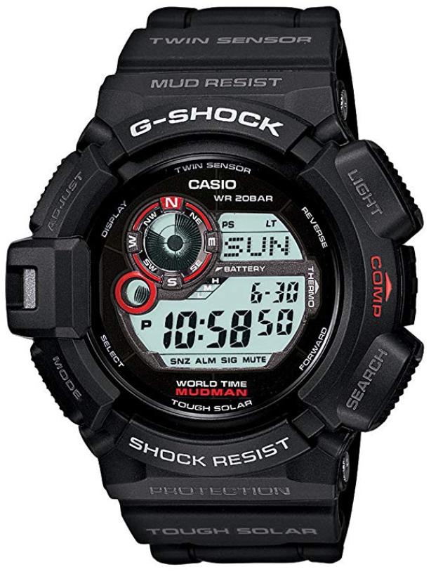 G-shock G9300-1 mudman-Best-Sport-Watches-Reviewed