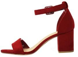 Top Moda MVE Stacked Block Heel