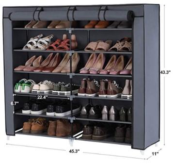 SONGMICS 7 Tier Cabinet