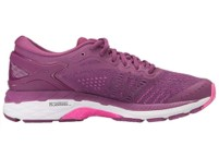 ASICS GEL-Kayano 24 purple shoes side view