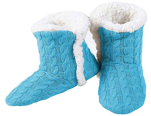 Best Slipper Boots Yelete Cable Knit