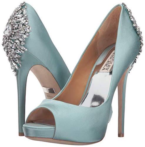 Best Turquoise Shoes Badgley Mischka Kiara