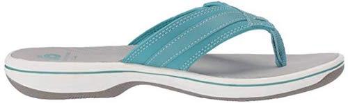 Best Turquoise Shoes Clarks Breeze Sea