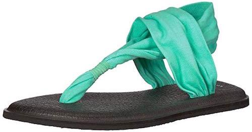 Best Turquoise Shoes Sanuk Yoga Sling 2