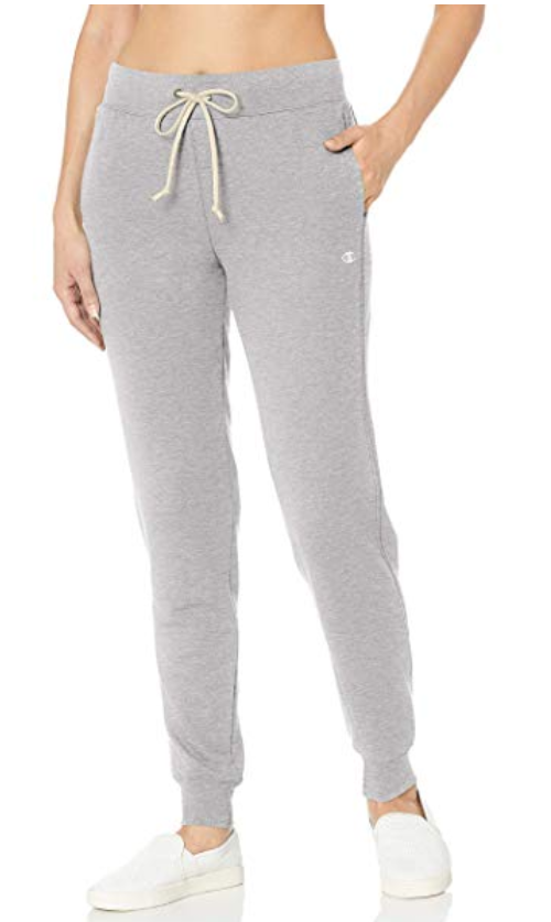 Champion French Terry Jogger-Best Skinny Joggers for Women Reviewed 2