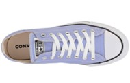 Converse Chuck Taylor purple shoes top view