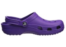 Crocs Classic purple shoes side view