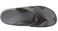 Crocs Modi shower shoes and slippers top view