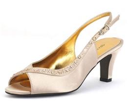 david tate dainty champagne heels