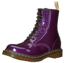 Dr. Martens Vegan Chrome purple shoes