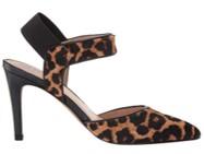 Franco Sarto Lima 2 leopard print shoes side view