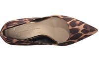 Jessica Simpson Cambredge leopard print shoes top view
