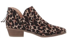 Kenneth Cole Side Way Low leopard print shoes side view