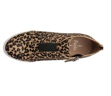 Linea Paolo Felicia leopard print shoes top view