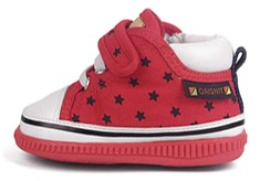 oaisnit high top squeaky shoes side view