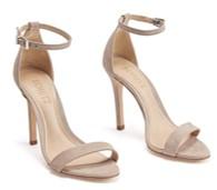 schutz cadey lee champagne heels pair