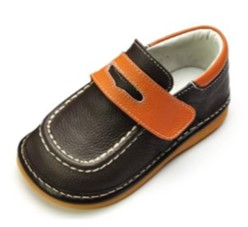 HLT fisherman loafer squeaky shoes