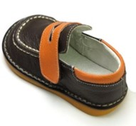 HLT fisherman loafer squeaky shoes side view
