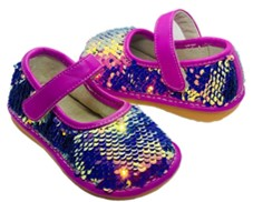 sofia sassy sequin squeaky shoes pair