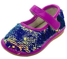 sofia sassy sequin squeaky shoes
