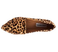 Steve Madden Feather leopard print shoes top view