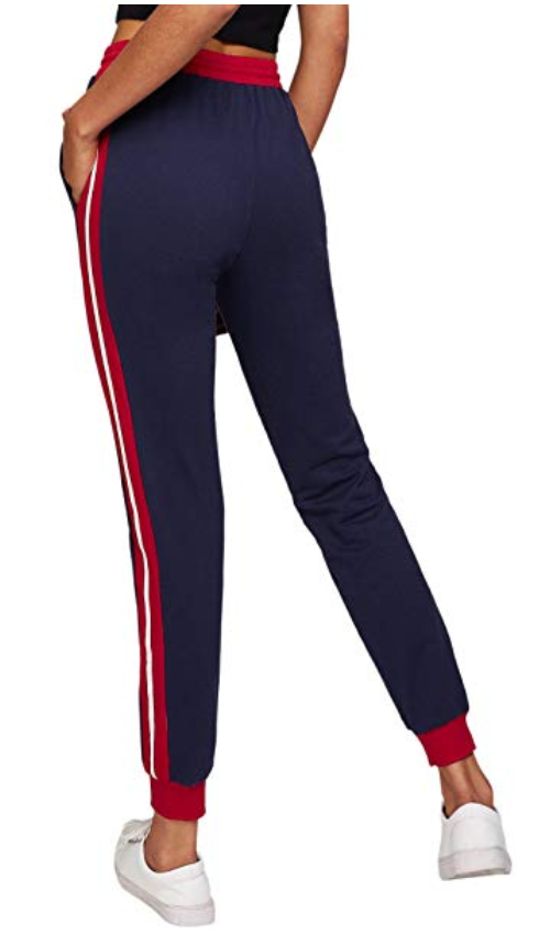 SweatyRocks Active Pant-Best Skinny Joggers for Women Reviewed 3