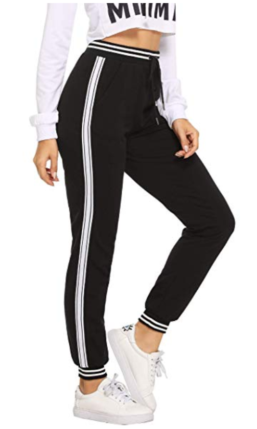 SweatyRocks Active Pant-Best Skinny Joggers for Women Reviewed