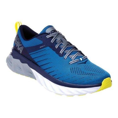 HOKA ONE ONE Men's Arahi 3 walking shoes for flat feet