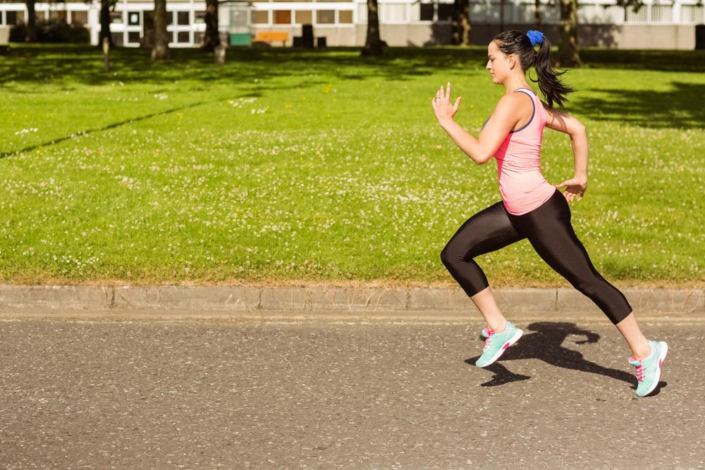 good running form vs bad running form