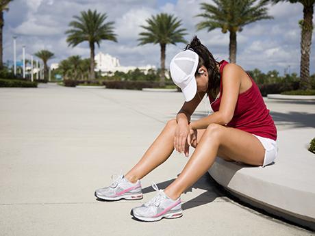 headache and running