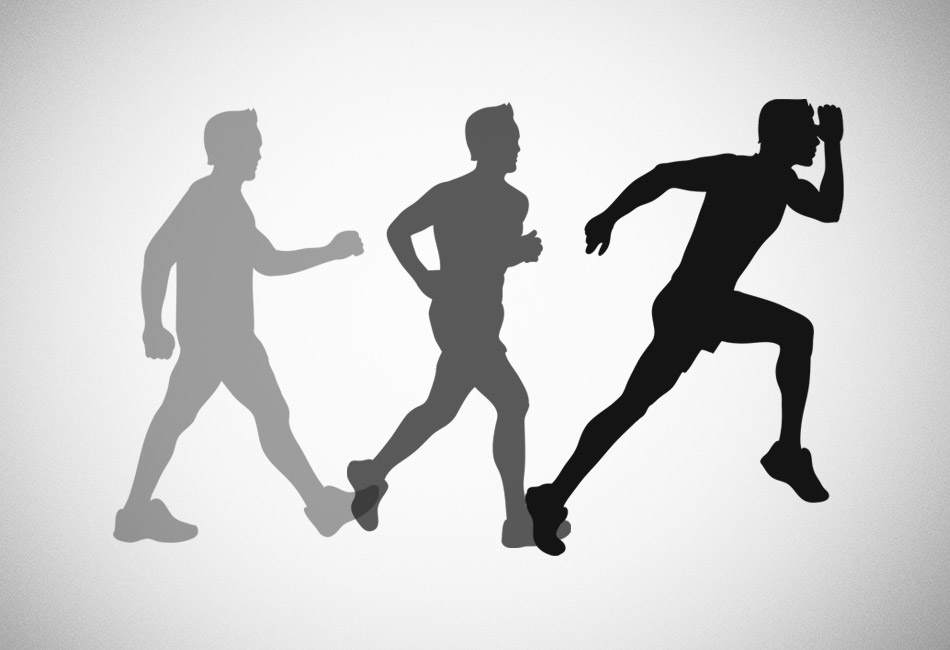 the difference between jogging and running
