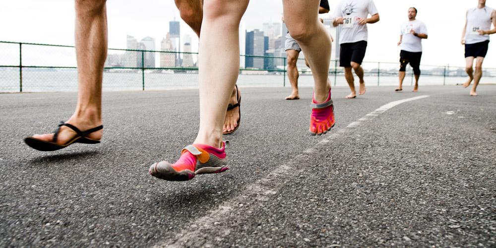 Barefoot Striding