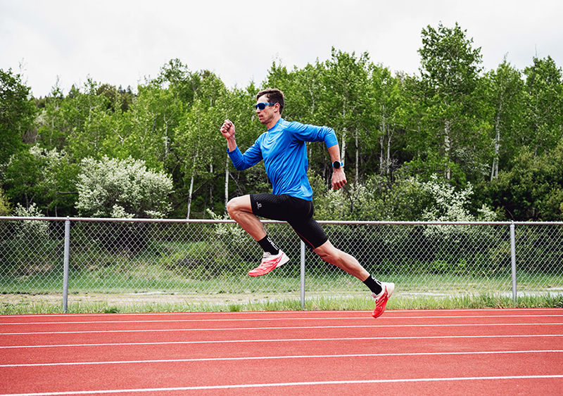 How to do a stride run