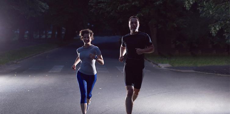 night running group