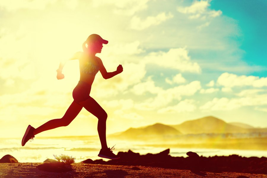 sun exposure and runner's face