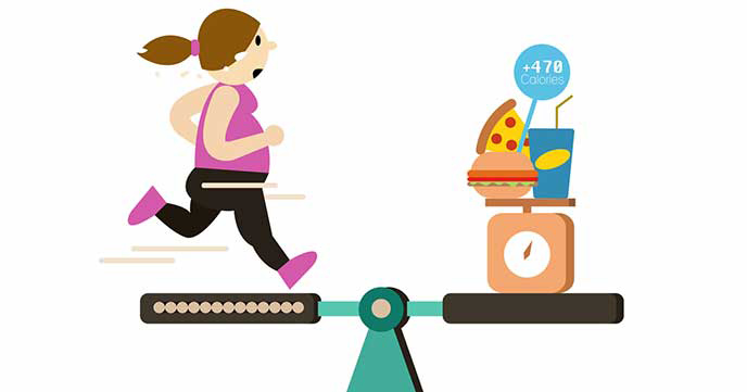 calories burned while running