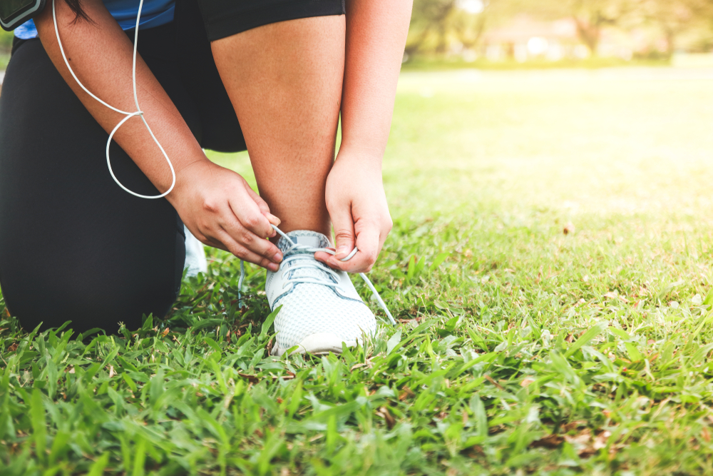 how to start running when overweight