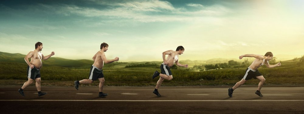 overweight runners