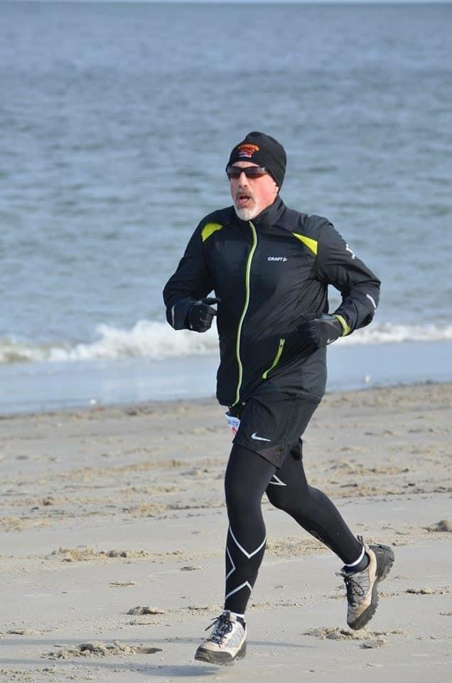 Jeff Loeb on running on the beach