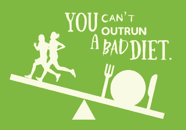 bad diet and runners
