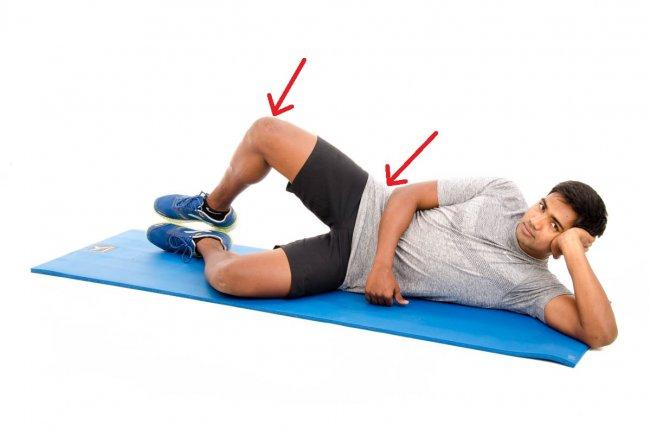 hip abductor stretch