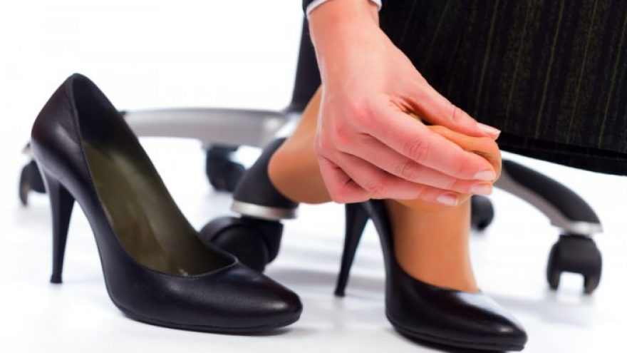 How to: Avoid Feet and Leg Problems if Standing for Work