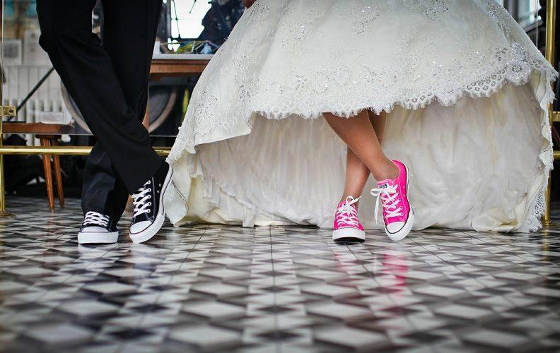 Wedding Shoes: High-Heel or Low-Heel Shoes