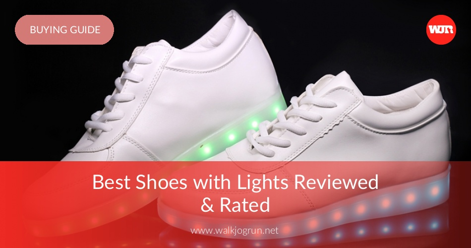 edb1adc89a06 10 Best Shoes with Lights Reviewed   Tested in 2019