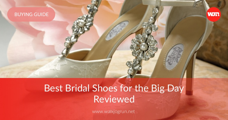 10 Best Bridal Shoes Reviewed Rated For 2020 Walkjogrun