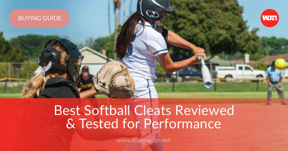 10 Best Softball Cleats Reviewed & Rated in 2019 | WalkJogRun