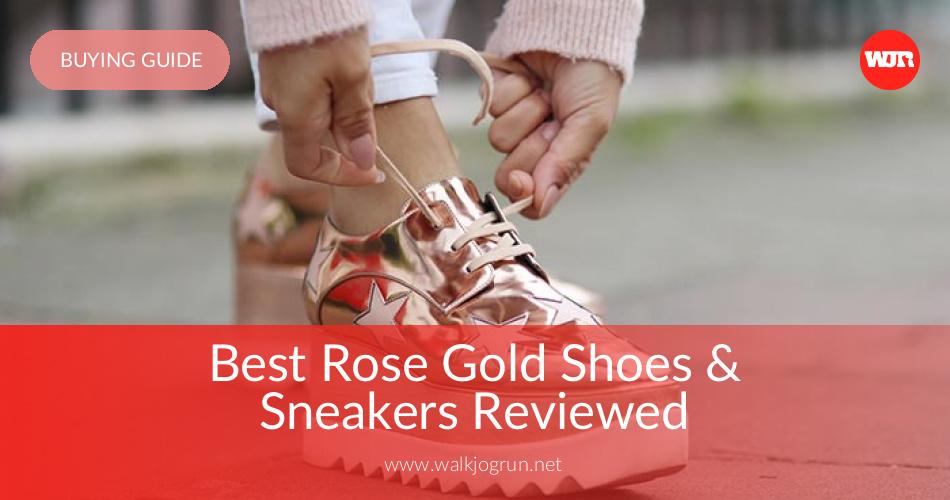 da33d97050 10 Best Rose Gold Shoes Reviewed & Rated in 2019 | WalkJogRun