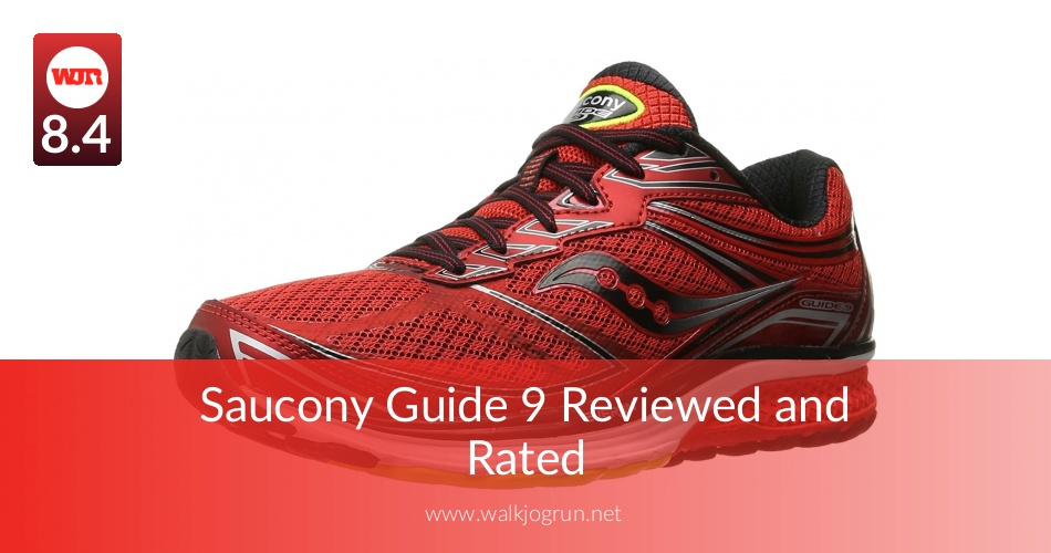 Saucony Guide 9 Reviewed & Tested for Performance in 2018 | NicerShoes